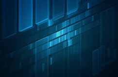 Abstract futuristic 3D background stock images