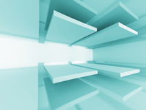 Abstract Futuristic Design Architecture Background Stock Photography