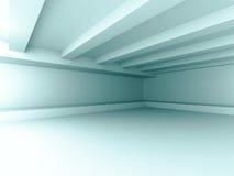 Abstract Futuristic Design Architecture Interior Background. Empty White Room Stock Image
