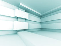 Abstract Futuristic Design Architecture Interior Background Stock Photos