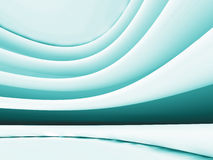Abstract Futuristic Design White Blue Background Stock Images