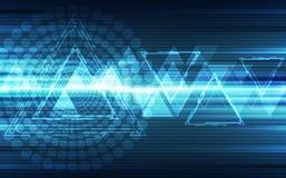Abstract futuristic digital speed technology background. Illustration Vector. Innovation website internet work network graphic science stock illustration