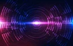 Free Abstract Futuristic Digital Technology Background. Illustration Vector Stock Images - 118539944