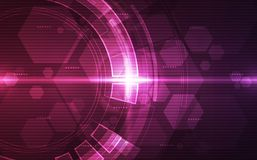 Free Abstract Futuristic Digital Technology Background. Illustration Vector Royalty Free Stock Image - 133065076