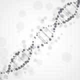 Abstract futuristic  DNA Stock Photo