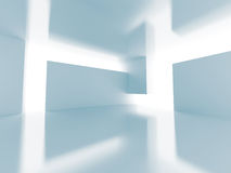 Abstract Futuristic Empty Interior Architecture Background Stock Images