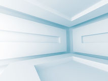 Abstract Futuristic Empty Interior Architecture Background Stock Image