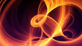 Abstract Futuristic Fractal Labyrinth Background stock photo