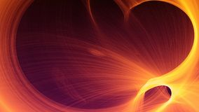 Abstract Futuristic Fractal Labyrinth Background royalty free illustration