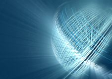 Abstract futuristic global background Stock Photography