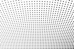 Abstract futuristic halftone pattern. Comic background. Dotted backdrop with circles, dots, point large scale. Black, white color Royalty Free Stock Photography
