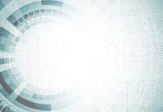 Abstract futuristic illustration. High technology computer backg. Abstract illustration. High technology computer background. Vector. Futuristic style with Royalty Free Stock Photos