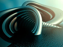 Abstract Futuristic Metal Background Wallpaper Royalty Free Stock Photography