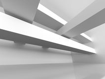Abstract Futuristic Minimalistic Architecture Design Background. 3d Render Illustration Stock Photography