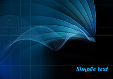 Abstract futuristic modern background Stock Image