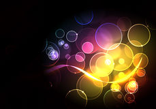 Abstract futuristic modern background Stock Images