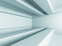 Abstract Futuristic Modern Empty Interior Background Stock Photo
