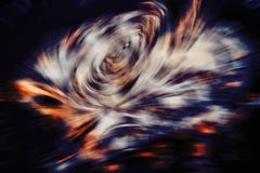 Abstract futuristic pattern, blurred color explosion Stock Images