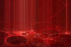 Abstract futuristic red background Stock Photos