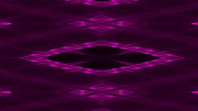 Abstract futuristic sci-fi background with purple colored glowing geometric shapes.  royalty free illustration