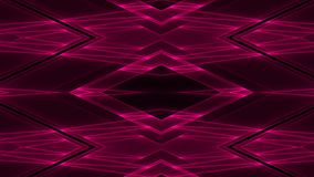 Abstract futuristic sci-fi background with red colored glowing geometric shapes.  stock illustration