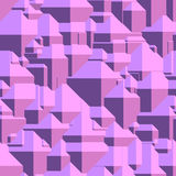 Abstract futuristic seamless pattern. Vector of abstract futuristic seamless pattern, background, in purple color Royalty Free Stock Photo