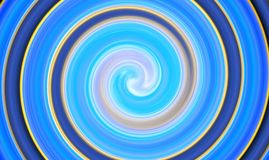 Abstract futuristic swirling circle Stock Image