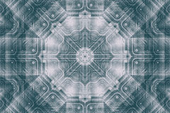 Abstract futuristic and symmetric background Royalty Free Stock Photo