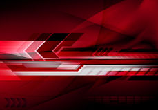 Abstract futuristic technology background Stock Photo