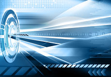 Abstract futuristic technology background Royalty Free Stock Photos