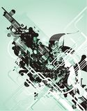Abstract futuristic vector stock illustration