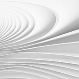 Abstract Futuristic Wallpaper. 3d White Abstract Futuristic Wallpaper Royalty Free Stock Images