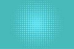 Abstract futuristisch halftone patroon Grappige achtergrond De gestippelde achtergrond met cirkels, punten, richt grote schaal Stock Foto
