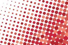Abstract futuristisch halftone patroon Grappige achtergrond De gestippelde achtergrond met cirkels, punten, richt grote schaal Stock Foto's