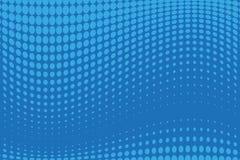 Abstract futuristisch halftone patroon Grappige achtergrond De gestippelde achtergrond met cirkels, punten, richt grote schaal Vector Illustratie