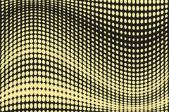 Abstract futuristisch halftone patroon Grappige achtergrond De gestippelde achtergrond met cirkels, punten, richt grote schaal Zw Stock Foto
