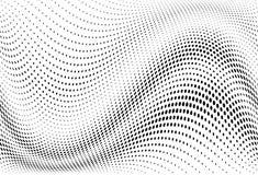Abstract futuristisch halftone patroon Grappige achtergrond De gestippelde achtergrond met cirkels, punten, richt kleinschalig Royalty-vrije Illustratie