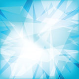 Abstract futuristy crystal background Stock Image
