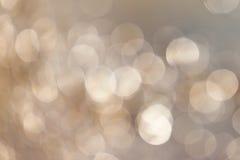 Abstract fuzzy facula, blue tone edition Stock Image