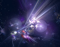 Abstract galaxy Stock Images
