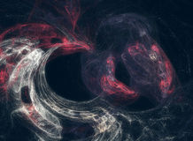 Abstract galaxy nebula. Abstraction of  galaxy and nebula on a dark background Stock Photo
