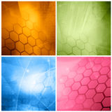 Abstract galaxy Royalty Free Stock Photos