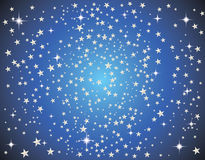 Abstract galaxy with stars Royalty Free Stock Photography