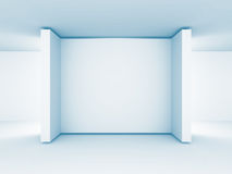 Abstract Gallery Blank Stand. Architecture Background Royalty Free Stock Images