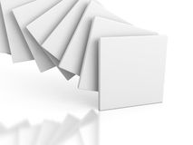 Abstract gallery Stand Banner Background Stock Photos