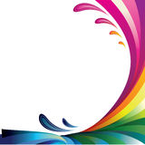 Abstract gamut backgrounds. Royalty Free Stock Photo