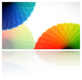 Abstract gamut card. Illustration for your design Royalty Free Stock Image
