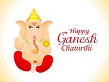 Abstract ganesh chaturthi wallpaper Stock Photography