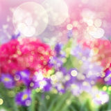 Abstract garden background Stock Images