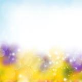 Abstract garden background Stock Photo